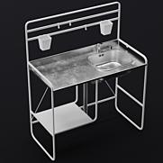 3d Model Kitchen Download At 3dskyorg