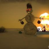 Снеговик чтоли...