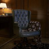 Вечернее чтение в удобном кресле