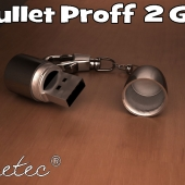 Флешка Pretec Bullet Proff 2 GB