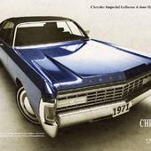Chrysler Imperial Le Baron hardtop 1971