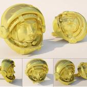 Золотые запонки