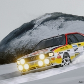 Audi Sport Quattro Group B Rally 1984