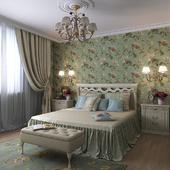 Спальня, продолжение проекта