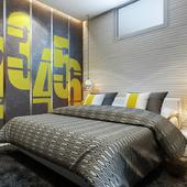 Дизайн спальни 10м2 (текущий проект)