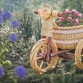 Плетеный велик