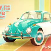 Моделирование и визуализация VW Beetle 1963