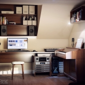 Рабочий кабинет музыканта
