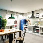 Лофтовая кухня