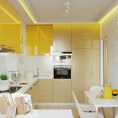 Визуализация кухни г.Борисполь