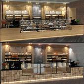 Эскизные варианты кафе-пекарни