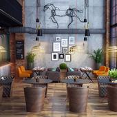 Ресторан и Кафе в стиле Лофт