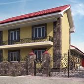 Визуализация реализованного дома