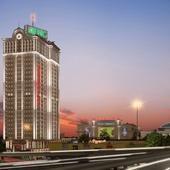 """Визуализация торгового и бизнес центров """"Manhattan"""" в г. Киев"""
