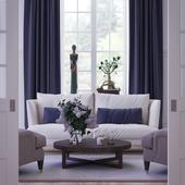 living room, Traditional, Corona Renderer