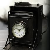 Vintage Camera Clock