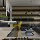 Квартира с уклоном в эко стиль