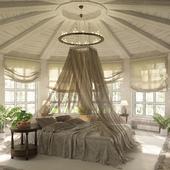 Домик в березовой роще (спальня)