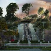 """Проект парка в стиле """"Алиса в стране чудес"""""""