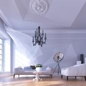 Гостиная в белом
