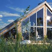 Дом со смотровой площадкой