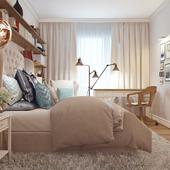 Спальня неопрованс:)