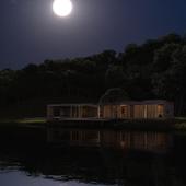 Дом на берегу реки (Ночь)