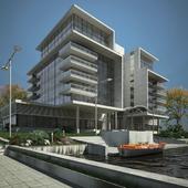 Жилой дом,Архитектура,Визуализация