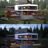Дом в лесу......