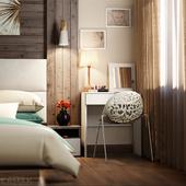 Спальня. Солнечный денек