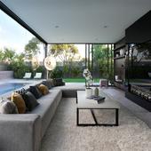 Комната с видом на двор