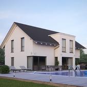 Жилой дом в Европе №002