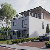 Жилой дом в Европе №005
