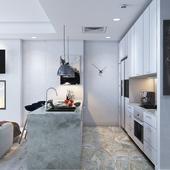 Kitchen & living (Light)