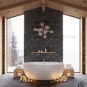 Ванная в шале. Salini S.r.l. Конкурс
