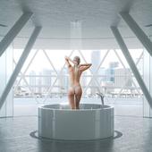 "На конкурс ""Ванная комната от SaliniS.r.l."""