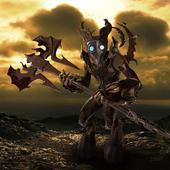 Стилизованный демон механического происхождения