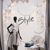 Дизайн студии одежды