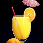Бокал апельсинового сока
