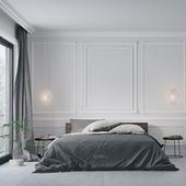 Спальня  в гостиничном номере