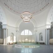 Интерьеры костела с функцией музея