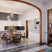 Art Nouveau - Appartement in Barcelona
