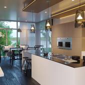 River House | Кухня и столовая зона