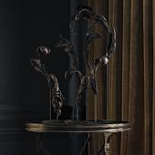 Eichholtz Table St Etienne  & decor set №11 RH