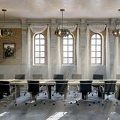 Loft conference room