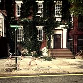 london street atmosphere