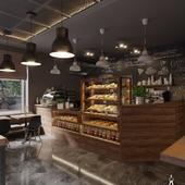 Bakery cafe in Minsk