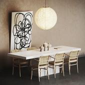 Scandinavian interior set