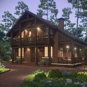 визуализация дома