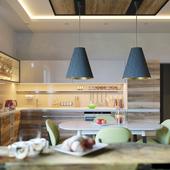 Гостиная с кухней для жизни